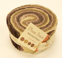 "Plum Sweet  - Jelly Roll - 40 @ 2 1/2"" - MODA"