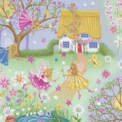 Magical Fairies By Kim Martin For RJR Fabrics
