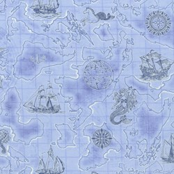 Anchor's Aweigh Nautical Print By Dan Morris