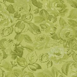 Return to Romance - Light Green Floral Tonal