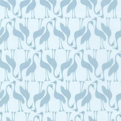 "End of Bolt - 4 yards x 180"" - Pond Collection- Wide Backi Fog Swan Pattern by Elizabeth Hartman for Robert Kaufman"