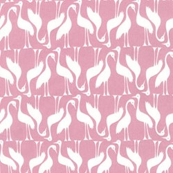 Pond Collection- Rose Swan Pattern by Elizabeth Hartman for Robert Kaufman