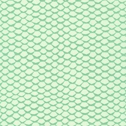 Pond Collection- Celadon Honeycomb Pattern by Elizabeth Hartman for Robert Kaufman