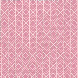 Pond Collection- Rose Modern Geo Pattern by Elizabeth Hartman for Robert Kaufman