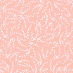 Pond Collection- Peach Pattern by Elizabeth Hartman for Robert Kaufman