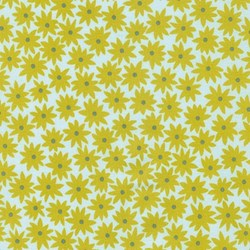 Pond Collection- Pickle Small Flower Pattern by Elizabeth Hartman for Robert Kaufman