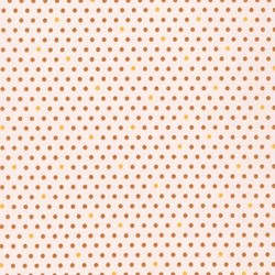 Pond Collection- Gold Polka-Dot Pattern by Elizabeth Hartman for Robert Kaufman