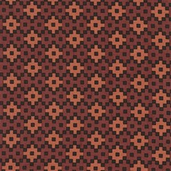Rhoda Ruth Collection- Earth/ Geometric Pattern by Elizabeth Hartman for Robert Kaufman