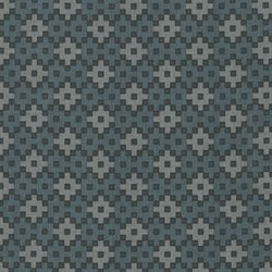Rhoda Ruth Collection- Charcoal/ Geometric Pattern by Elizabeth Hartman for Robert Kaufman