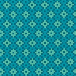 Rhoda Ruth Collection- Nightfall/ Geometric Pattern by Elizabeth Hartman for Robert Kaufman
