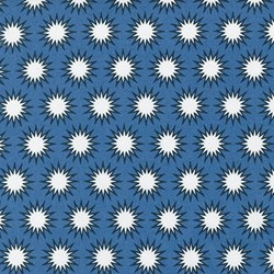 Pacific Collection- Marine/ Sunburst by Elizabeth Hartman for Robert Kaufman