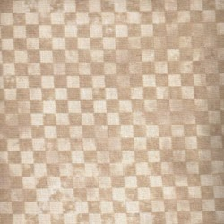 Roosters - Cream Tonal Check - <br>by Audrey Jeanne Roberts for In the Beginning Fabrics