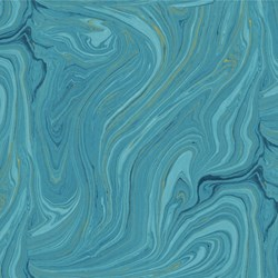Sandscapes - Teal - by By Deborah Edwards for Northcott Studio