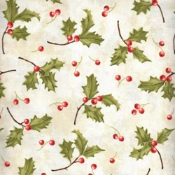 Santa Claus - Holly on Cream - by Tom Browning for Maywood Studios