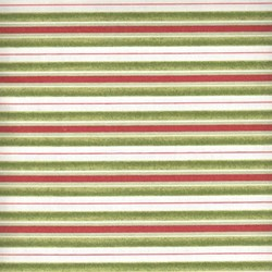Santa Claus - Red and Green Stripe - by Tom Browning for Maywood Studios