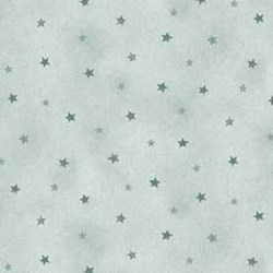 Shine - Blue Tonal Stars - by Jackie Paton for Red Rooster Fabrics