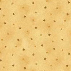 Shine - Gold Tonal Stars - by Jackie Paton for Red Rooster Fabrics