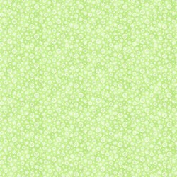 Snow Bears - Flannel - Snowflake in Green - by Deborah Edwards for Northcott