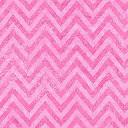 Stonehenge Little Girls Rainbow - Rose Chevron - by Deborah Edwards and Linda Ludovico for Northcott