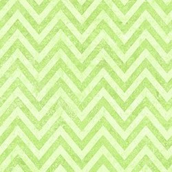 Stonehenge Little Girls Rainbow - Green Chevron - by Deborah Edwards and Linda Ludovico for Northcott