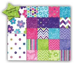 Variety Size Bundle & Free Pattern of Stonehenge Little Girls Fabric Collection