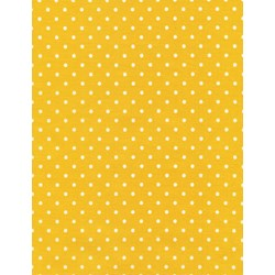 Dot Basics - Yellow - by Timeless Treasures