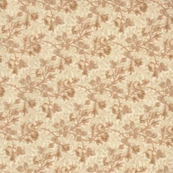 Savannah Classics <br>Gold Buds & Leaf Reproduction<br> by Sara Morgan for Washington Street Studio, P&B Textiles for Wilmington Prints