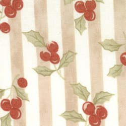 "Winter Quilting Fabric by Moda 16"" Remnant"