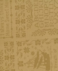 "At Waters Edge - 108"" Wide Backing Fabric - Sampler Club - Sunflower Brown"