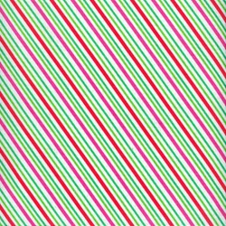 Christmas Candy - Multi Stripes - by Doodlebug Designs for Riley Blake Designs