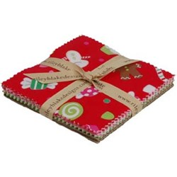 Christmas Candy - Charm Pack - by Doodlebug Designs for Riley Blake Designs