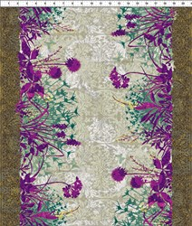Dreamscapes - Large Floral Purples