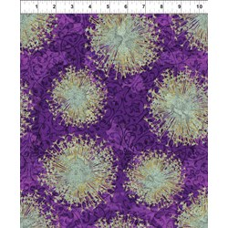 Dreamscapes - Purple Flower Pattern