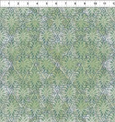Dreamscapes - Green Pattern