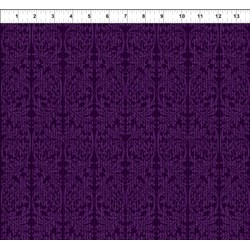 Dreamscapes - Dark Purple Pattern