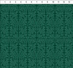 "23"" Remnant- Dreamscapes - Dark Greens Pattern"