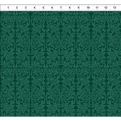 Dreamscapes - Dark Greens Pattern