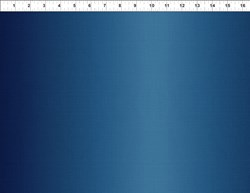 "End of Bolt - 70"" - Dreamscapes - Dark Blue Gradient"