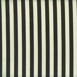 Horizontal Stripe in Cream and Black by Lakehouse Dry Goods