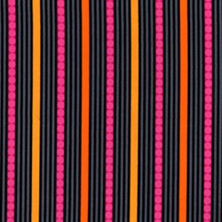 "10"" x 64""  Remnant Stripe Z & Dot Z - Black"
