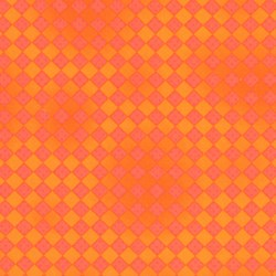 Tonal Diamonds in Orange by Lakehouse Dry Goods