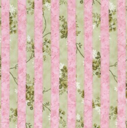 Rose Window Stripe Pink by Lakehouse Dry Goods