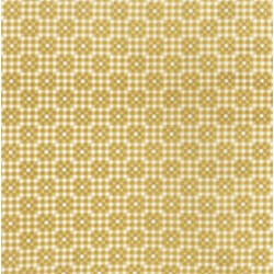 Mini Checkerboard - Amber  Fat Quarter