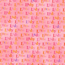 Little Lady Saying in Pink by Lakehouse Dry Goods