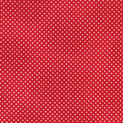 Itty Bitty Polka Ditty Red