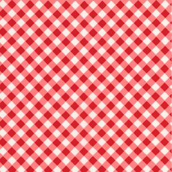 Chunky Check Red