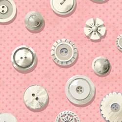 Antique Buttons - Powder