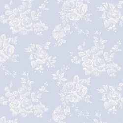 Penelope Rose Toile in Periwinkle by Lakehouse Dry Goods