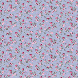 Penelope Rose Vine in Periwinkle by Lakehouse Dry Goods