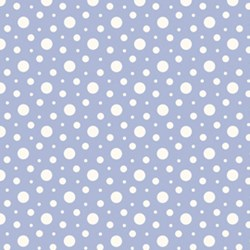 Penelope Dancing Dots in Periwinkle by Lakehouse Dry Goods